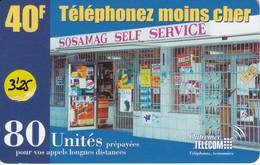 TARJETA DE ANTILLAS FRANCESAS DE 40 FF DE TELEPHONEZ MOINS CHER (OUTREMER TELECOM) - Antillas (Francesas)