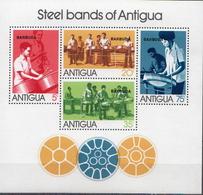 Barbuda MNH Set And SS - Musique
