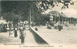 Royan - Boulevard Botton Et Casino Municipal   Q 1081 - Royan
