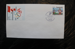 Canada Olympic Games Montreal 1976 Special Cancel Flame Relay A04s - Summer 1976: Montreal