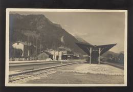 SLOVENIA JESENICE TRAIN STATION OLD POSTCARD - Eslovenia