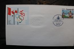Canada Olympic Games Montreal 1976 Special Cancel Arts And Crafts A04s - Summer 1976: Montreal