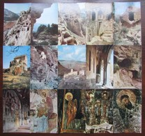 GEORGIA. VARDZIA, MONASTERY OF THE CAVES. Set Of 24 Postcards In Folder. USSR, 1972 - Géorgie