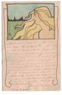 CARTOLINA  CARTE POSTALE   Art Nouveau Illustratore Carl Jozsa (1872-1929) - Publicidad