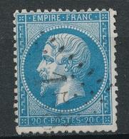 N°22 VARIETE MARQUEE AU VERSO. - 1862 Napoléon III.