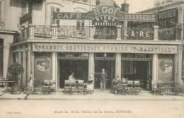 France - 88 - Epinal - Café H. GOL - Place De La Gare - Bière De Maxeville - Epinal