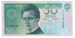 ESTONIA50KROONI1994P78UNC-.CV. - Estonia