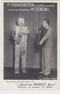 Mr.Frankenstein Mit Seinem Musizierenden Roboter - Fotoreklamekarte      (A-180-190927) - Musique Et Musiciens