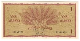 FINLAND1MARKKA1963P98UNC.CV. - Finlandia