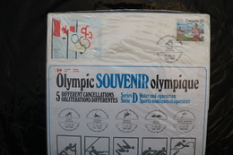 Canada Olympic Games Montreal 1976 Special Cancel Canoe Yacht Swim Rowing Equestrian A04s - Summer 1976: Montreal