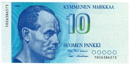 FINLAND10MARKKA1986P113UNC.CV. - Finlandia