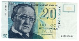 FINLAND20MARKKA1993P122UNC.CV. - Finlandia