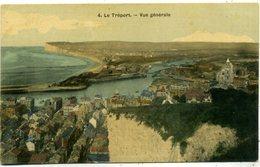 76 LE TREPORT ++ Vue Générale ++ Carte Toilée - Le Treport