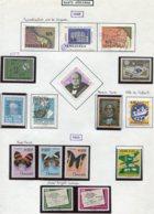 16810 VENEZUELA Collection Vendue Par Page PA 863/5, 866, 867, 868-878 */ °   1965-66  B/TB - Venezuela