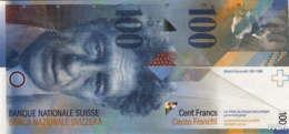 Suisse 100 Francs (P72j) 2014 -UNC- - Switzerland
