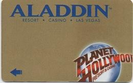 Carte Clé Hôtel : Aladdin Resort Casino Las Vegas (Mauvais État) - Cartes D'hotel