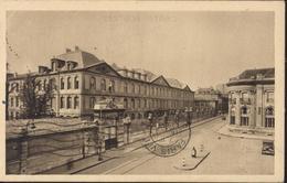 CPA Nancy Lycée Henri Poincaré Façade Sur La Place Dombasle Editions Universitaires Tourte Et Petitin YT 362 Et 410 - Nancy