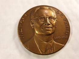 MARCEL BAYARD Medaille 1961 Par TURIN 68mm BRONZE Mdp P.T.T NAVIRE CABLIER - France