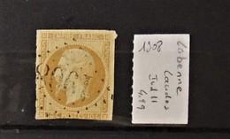02 - 20 // France - Oblitération GC 1908 - Labenne - Landes - Indice 11 - Marcophilie (Timbres Détachés)