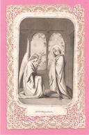 CANIVET - ANNONCIATION - ANGE - 13 Juin 1867 - Santini