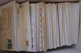 Bund Briefe, Karten Und Ganzsachen - Kisten Für Briefmarken