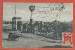 PALESTINE CARTE POSTALE AFFRANCHIE DE ALEP DE 1919 POUR ORLEANS FRANCE - Palestine