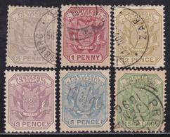 BRITISH COLONIES TRANSVAAL 1894-95 / 5v Used + 3p MH - Africa Del Sud-Ovest (1923-1990)