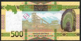 GUINEA NLP 500 FRANCS 2018 #AC Issued August 2019 UNC. - Guinee