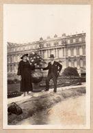 B637 Photographie Vintage Originale Versailles Expo 1937 Couple - Luoghi
