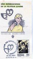 AÑO INTERNACIONAL DE LA FILATELIA JUVENIL DIA DE EMISION 1974 LA PLATA - NTVG. - Otros