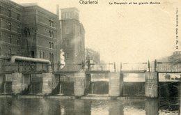 Charleroi  Le Deversoir Et Les Grands Moulins - Charleroi