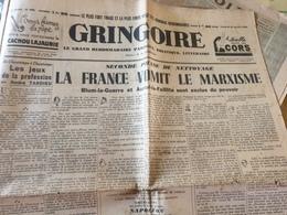 GRINGOIRE /LA FRANCE VOMIT LE MARXISME /RALPH SOUPAULT STALINE/GOYAU PAR PREVOST /CHINE TEMPETE /SCHNITZLER - General Issues