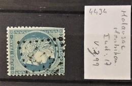 02 - 20 // France - Oblitération GC 4434 - Malausac - Morbihan - Indice 17 - Storia Postale (Francobolli Sciolti)