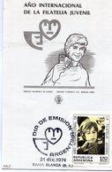 AÑO INTERNACIONAL DE LA FILATELIA JUVENIL DIA DE EMISION 1974 BAHIA BLANCA - NTVG. - Otros