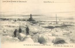 France - Saint-Pierre Et Miquelon - St.-Pierre - Le Phare De La Pointe-aux-Canons , L' Hiver - Saint-Pierre-et-Miquelon