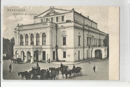 Cpa Roumanie Ramania Bucuresti Bucarest Tratrul National Théatre - Romania