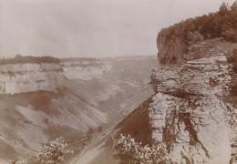 Photo Vers 1900 BAUME-LES-MESSIEURS - Vallée De Baume (A219, Ww1, Wk 1) - Autres Communes