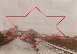Photo Vers 1900 ORGELET - Une Vue, Voie Ferrée, Gare (A219, Ww1, Wk 1) - Orgelet