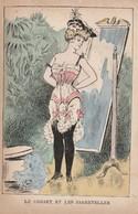 L'habit Féminin ( Dans Le Genre Xavier SAGER). Le Corset Et Les Jarretières. - Illustrateurs & Photographes