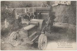 CPA   TRACTEUR   GRIGNON TRACTEUR EMERSON - Tractors