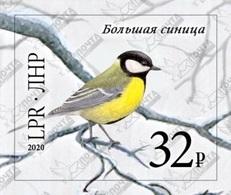 Stamps Of Ukraine (local) WINTER BIRDS SINICA 29.01.2020 - Briefmarken