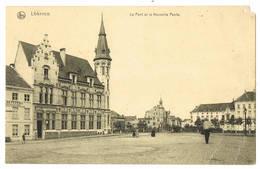 Lokeren: Le Pont Et La Nouvelle Poste.  (2 Scans) - Lokeren