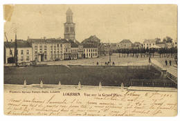 Lokeren: Vue Sur La Grand'Place.  (2 Scans) - Lokeren