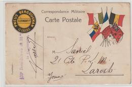 CPFM Pub  Pneus Bergougnan 1915 - Oorlog 1914-18