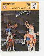 Jacques Cachemire ( Antibes ) Basket Sport 1FICH-Basketball - Sport