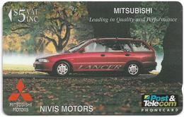 Fiji - Tel. Fiji - Nivis Motors - Mitsubishi Lancer - 16FIC - 1996, 5$, 9.400ex, Used - Figi