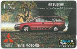 Fiji - Tel. Fiji - Nivis Motors - Mitsubishi Lancer - 16FIC - 1996, 5$, 9.400ex, Used - Fidschi