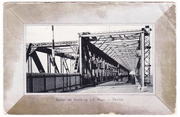 Venlo - Spoor En Voetbrug O/d Maas - 1907 - Venlo