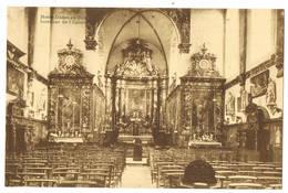 Jezus-Eik / Notre-Dame-au-Bois:  Intérieur De L'église  (2 Scans) - België