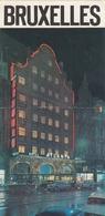 Bruxelles Belgium Hotel Atlanta Old Guide Prospect Brochure Depliant - Dépliants Turistici